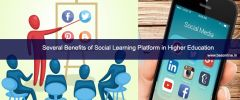 Several Benefits of Social Learning Platform in Higher Education