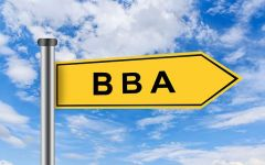 What are the subjects in BBA Course?