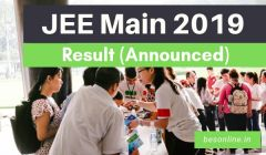 JEE Main 2019 Result Declared - Check Here Details