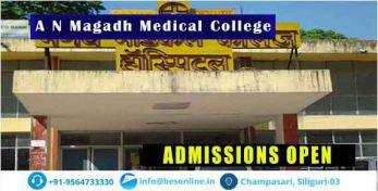 A N Magadh Medical College Courses