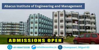 Abacus Institute of Engineering and Management Scholarship