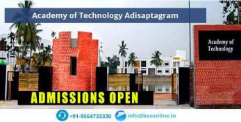 Academy of Technology Adisaptagram Admissions