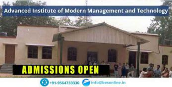 Advanced Institute of Modern Management and Technology Scholarship