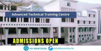 Advanced Technical Training Centre Admission