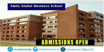 Amity Global Business School Admissions