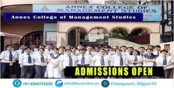 Annex college of management studies Admissions