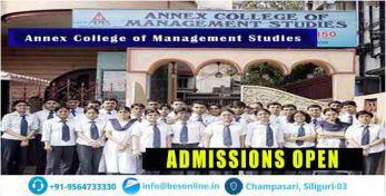 Annex college of management studies Courses
