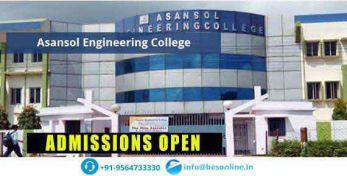 Asansol Engineering College Exams