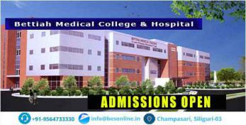 Bettiah Medical College and Hospital Courses