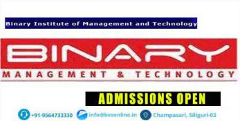 Binary Institute of Management and Technology Courses