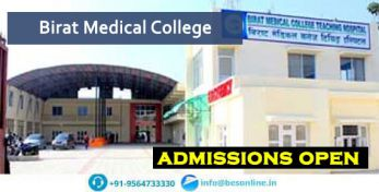 Birat Medical College Admissions