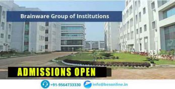Brainware Group of Institutions Admissions