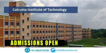 Calcutta Institute of Technology Scholarship