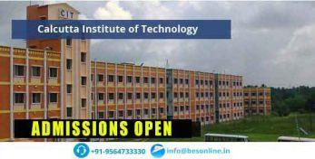 Calcutta Institute of Technology