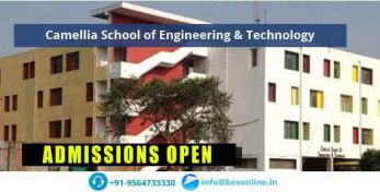 Camellia School of Engineering & Technology Scholarship