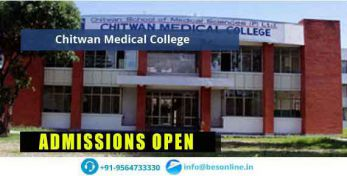 Chitwan Medical College Admissions