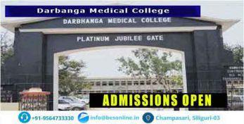 Darbhanga Medical College Admission