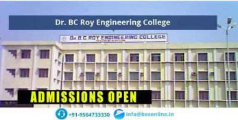Dr. BC Roy Engineering College Courses