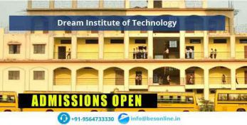 Dream Institute of Technology Exams
