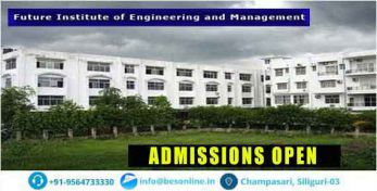 Future Institute of Engineering and Management Admissions