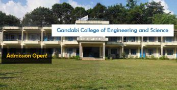 Gandaki College of Engineering and Science Pokhara Entrance Exam