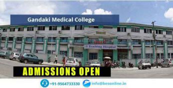 Gandaki Medical College Admissions