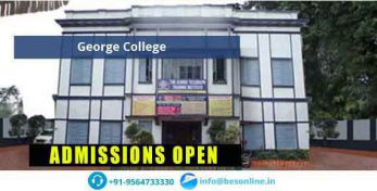 George College Fees Structure