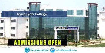 Gyan Jyoti College Courses
