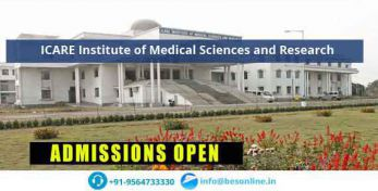 ICARE Institute of Medical Sciences and Research Fees Structure