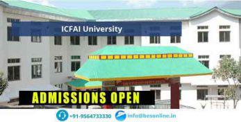ICFAI University Courses