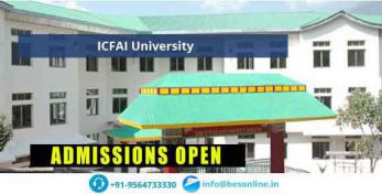 ICFAI University Sikkim Fees Structure