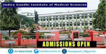 Indira Gandhi Institute of Medical Sciences Admission