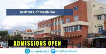 Institute of Medicine Nepal Scholarship