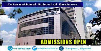 International School of Business Admissions