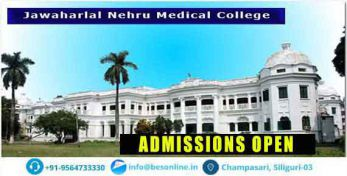 Jawaharlal Nehru Medical College Admission