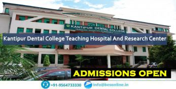 Kantipur Dental College Teaching Hospital And Research Center Admissions