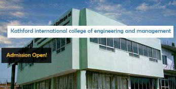 Kathford international college of engineering and management patan Courses