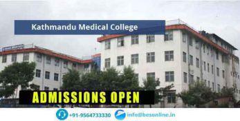 Kathmandu Medical College Admissions