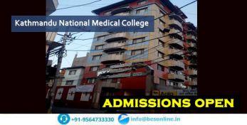 Kathmandu National Medical College Admissions