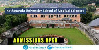 Kathmandu University School of Medical Sciences Fees Structure