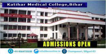Katihar Medical College Admission
