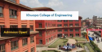 Khwopa College of Engineering Bhaktapur Admissions