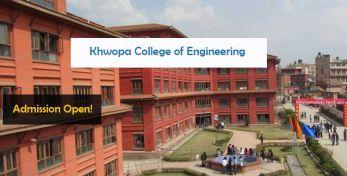 Khwopa College of Engineering Bhaktapur Entrance Exam
