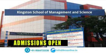 Kingston School of Management and Science Admissions