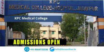 KPC Medical College Scholarship