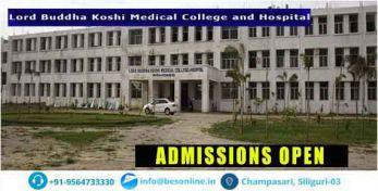 Lord Buddha Koshi Medical College Admission
