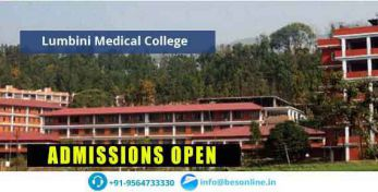 Lumbini Medical College Facilities