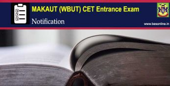 MAKAUT WB CET 2020 Entrance Exam Notification