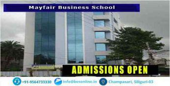 Mayfair Business School Scholarship