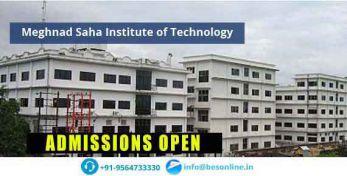 Meghnad Saha Institute of Technology Exams